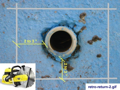 Retrofit Inground Pool Liners Converting A Return Lines